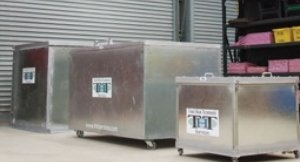 THT Furnaces and Mobile Panelled Furnace
